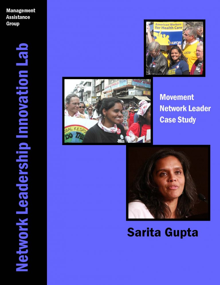 Movement Network Leader Case Study-  Sarita Gupta, Executive Director of Jobs with Justice