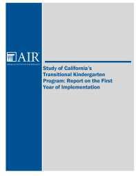 TK Implementation Study Final Report