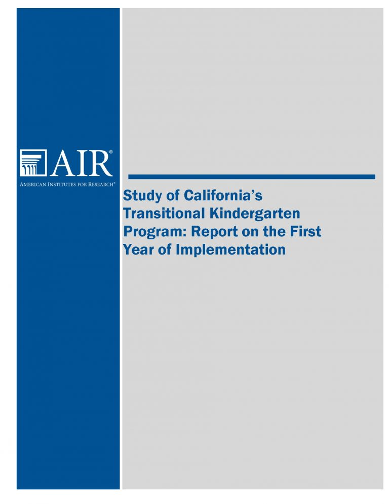 TK Implementation Study Final Report