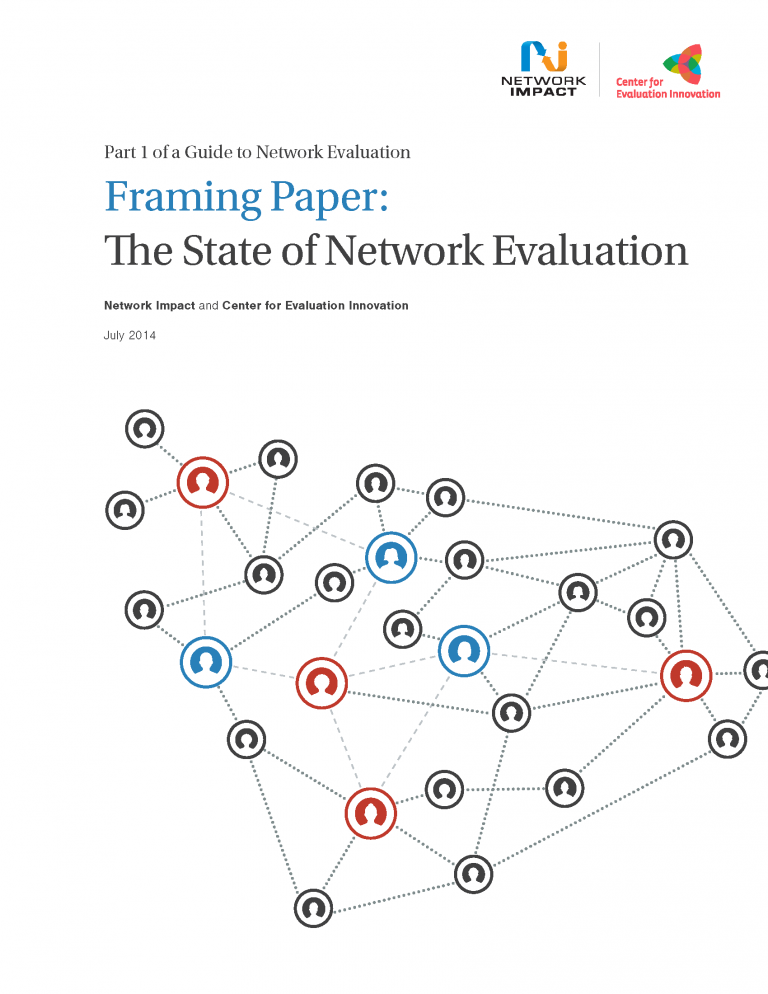 Guide to Network Evaluation -- Framing Paper and Casebook